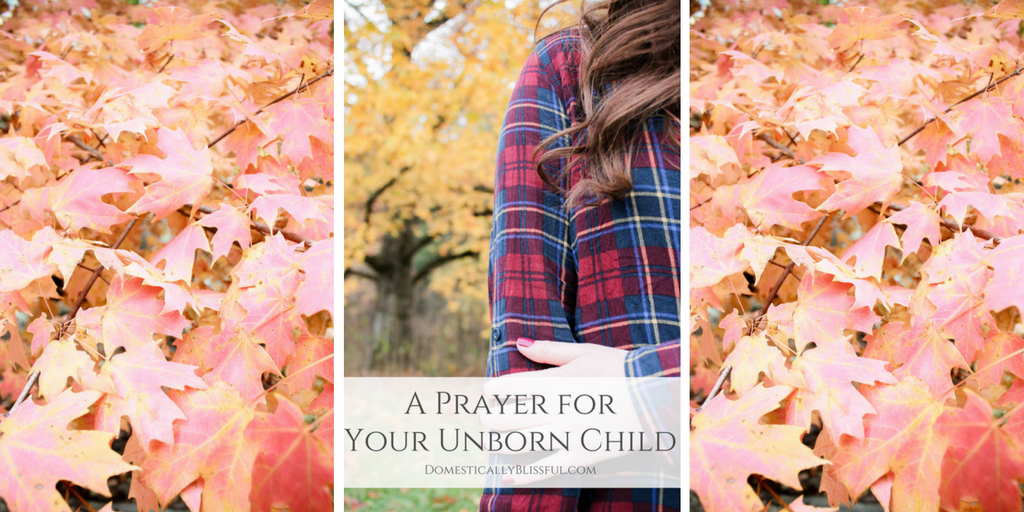 A Prayer for Your Unborn Child