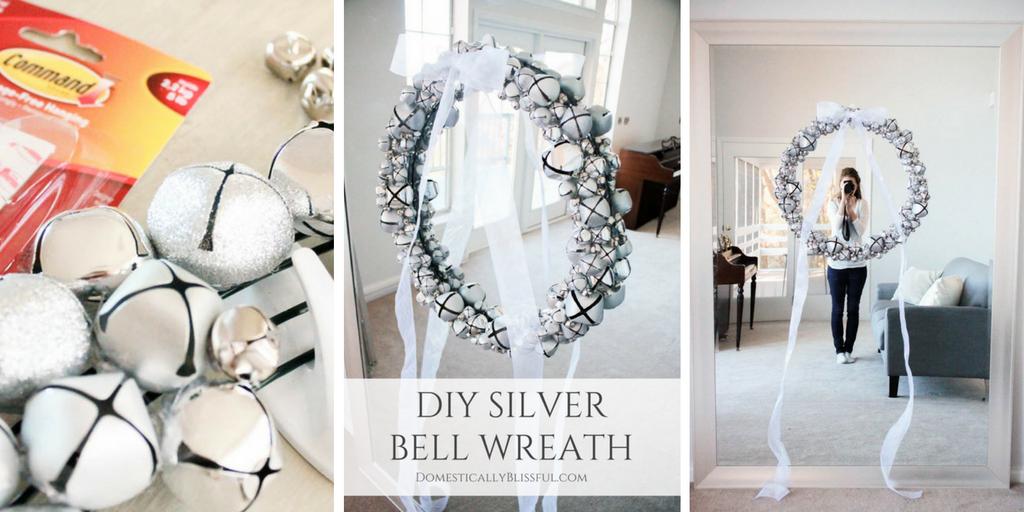 Silver Bell Wreath