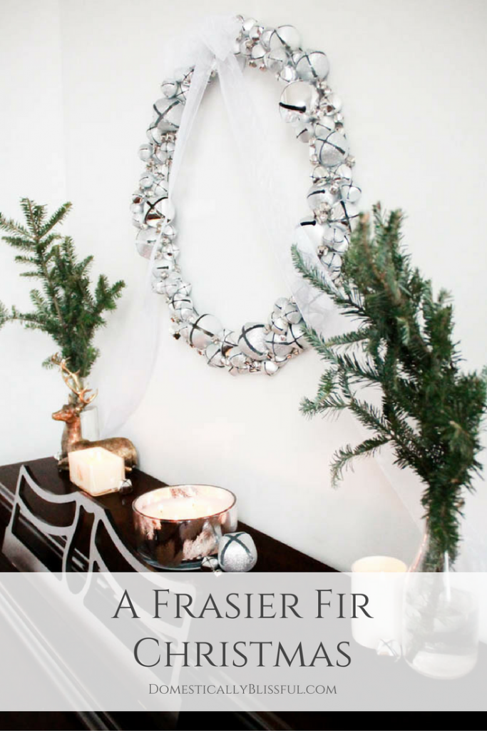 A Frasier Fir Christmas to begin the traditions of the holiday season.