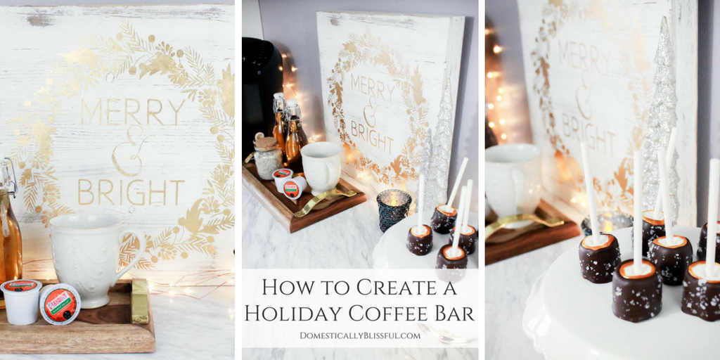 How to Create a Holiday Coffee Bar