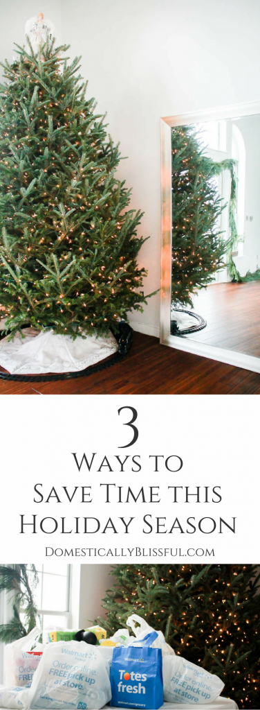 3 ways to save time this holiday season.