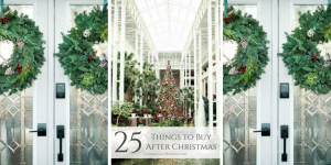 25 things to buy after Christmas that will save you money all year!