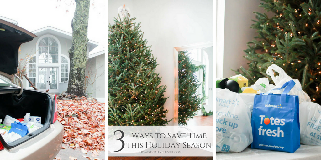 3 Ways to Save Time this Holiday Season