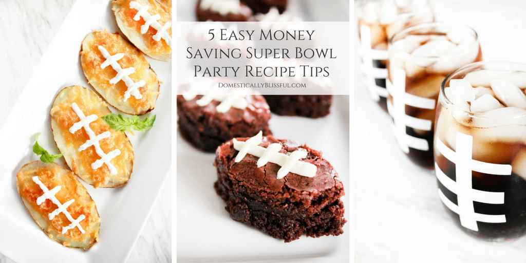 5 Easy Money Saving Super Bowl Party Recipe Tips
