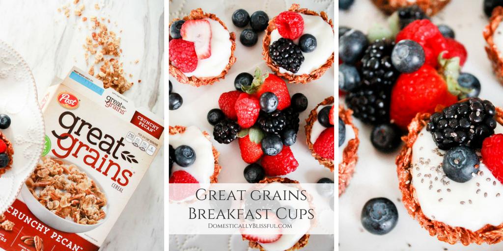 Great Grains Breakfast Cups