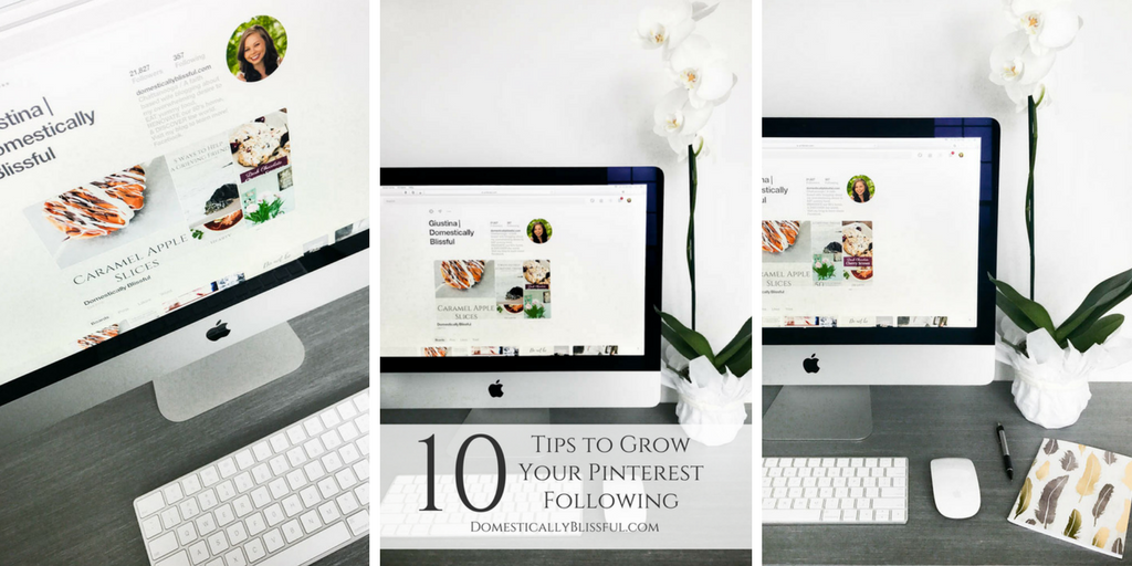 10 Tips to Grow Your Pinterest Following