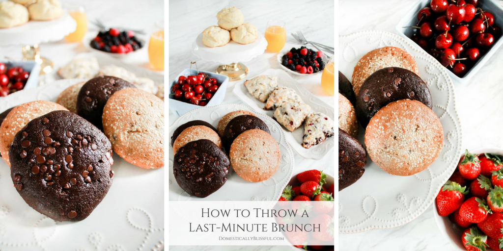 How to Throw a Last-Minute Brunch