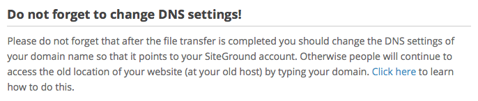 How to transfer your existing blog from your current hosting provider to SiteGround for free!