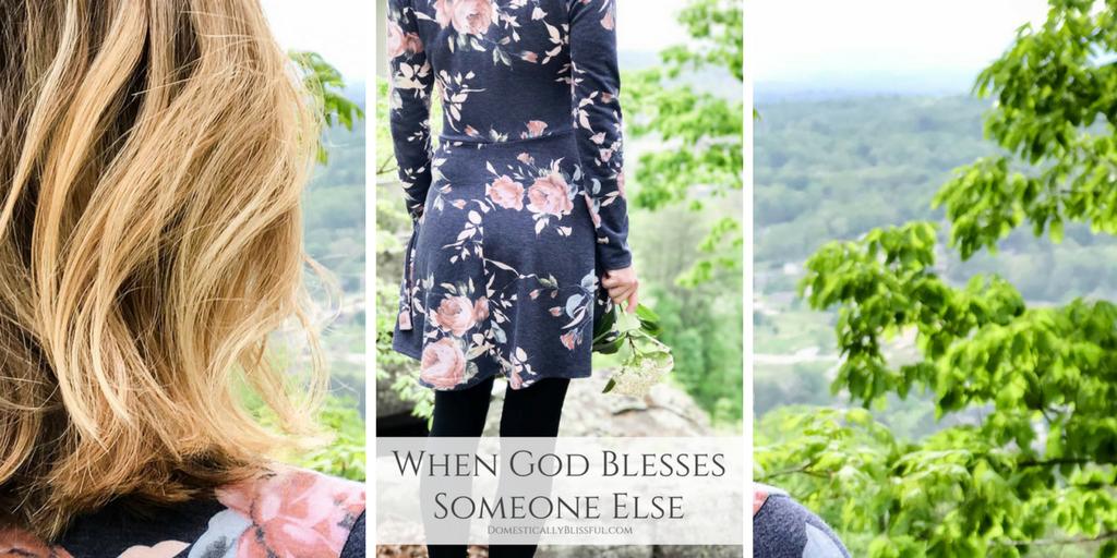 When God Blesses Someone Else