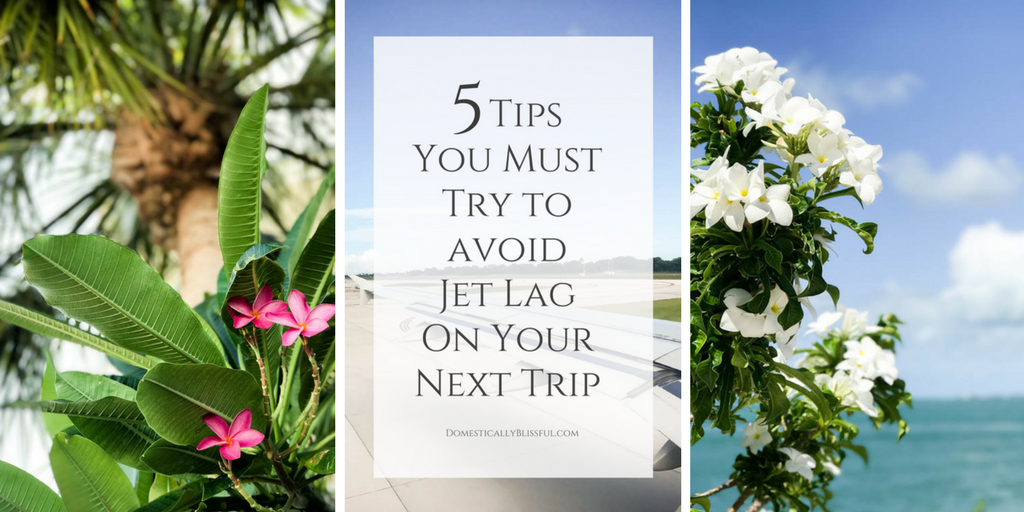 5 Tips You Must Try To Avoid Jet Lag on Your Next Trip