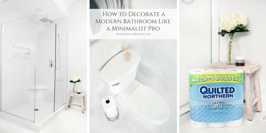 How to Decorate a Modern Bathroom Like a Minimalist Pro