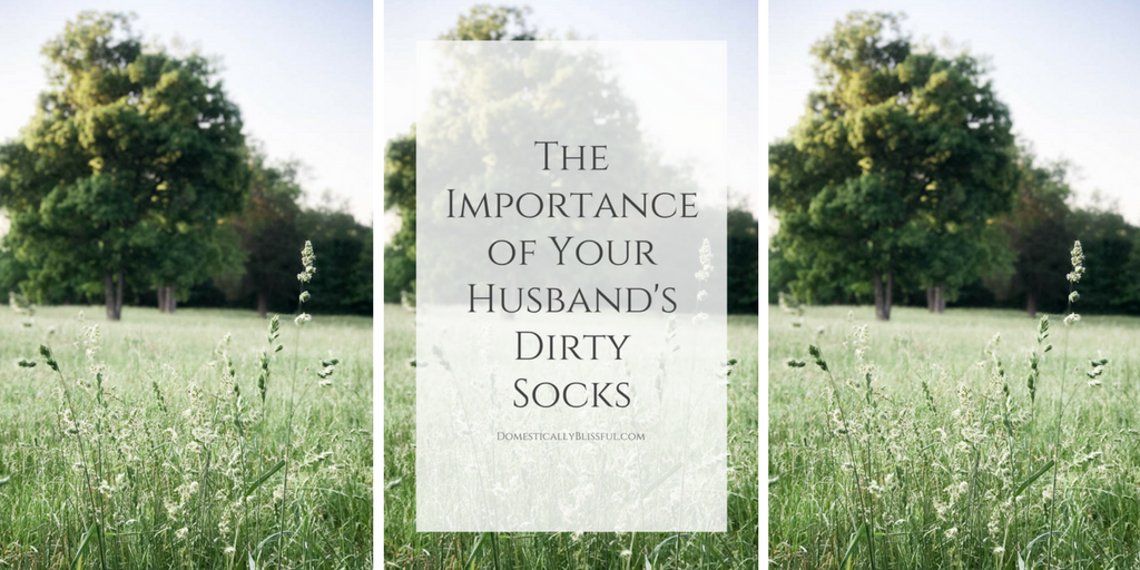 The Importance of Your Husband's Dirty Socks