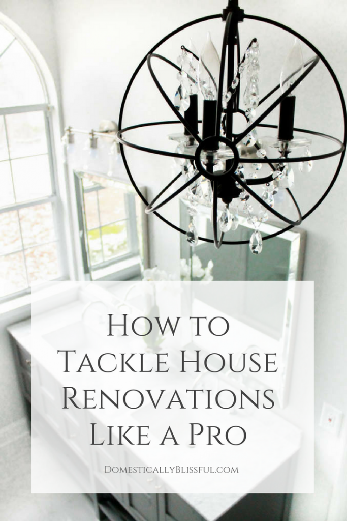 5 tips to help you tackle house renovations like a pro & create the home of your dreams.