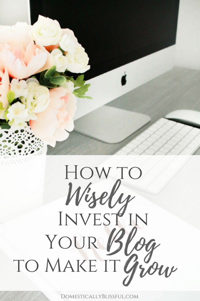 A guide to blog investments & budget blogging to help increase your blog's success without breaking the bank.