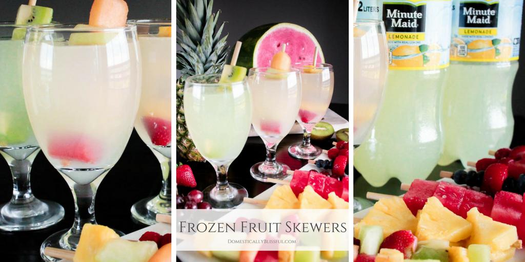 Frozen Fruit Skewers