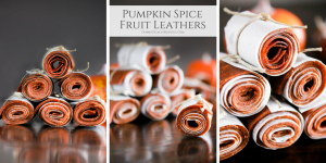 Pumpkin Spice Fruit Leathers