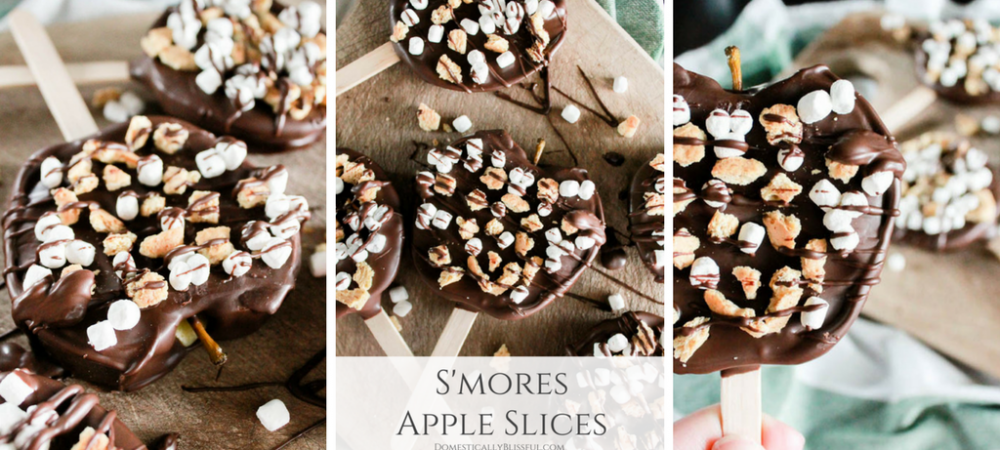 S'mores Apple Slices