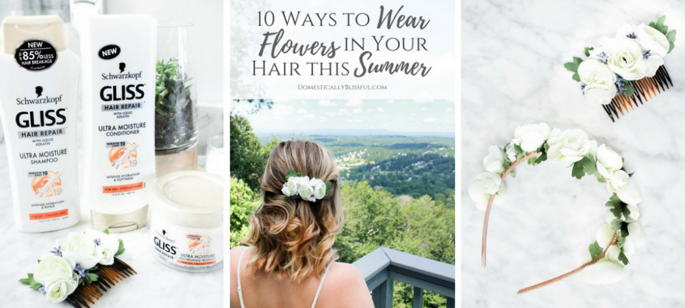 10 Ways to Wear Flowers in Your Hair this Summer