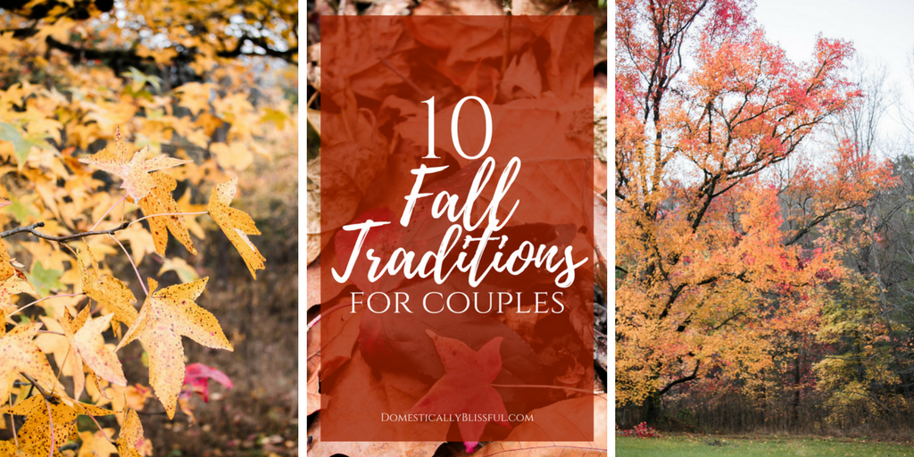 10 Fall Traditions for Couples