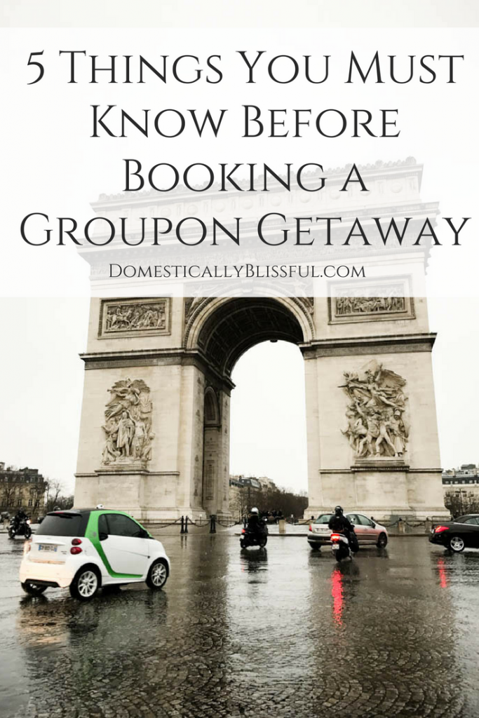 5 Things You Must Know Before Booking a Groupon Getaway