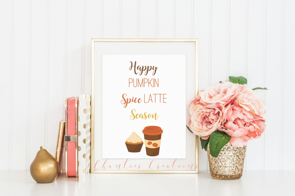 25 Pumpkin Spice Printables to decorate your home with this season. They even make great hostess gifts & favors for Friendsgiving!
