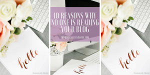 10 reasons why no one is reading your blog & how you can easily fix these problems & gain real readers that keep coming back to read more.