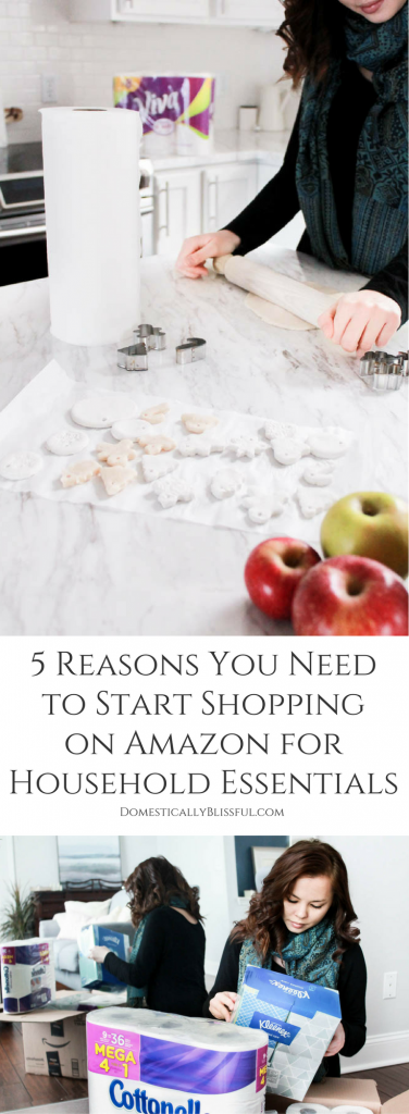 5 reasons you need to start shopping on Amazon for household essentials that will save you time, money, & so much more!
