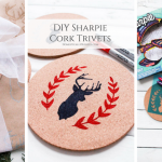 Sharpie Cork Trivets