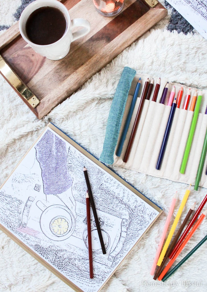 Learn how to create your own adult coloring pages from your favorite photos & memories! Plus download a free printable coloring page of a succulent in Maui.