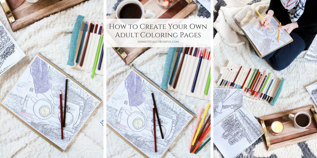 How to Create Your Own Adult Coloring Pages