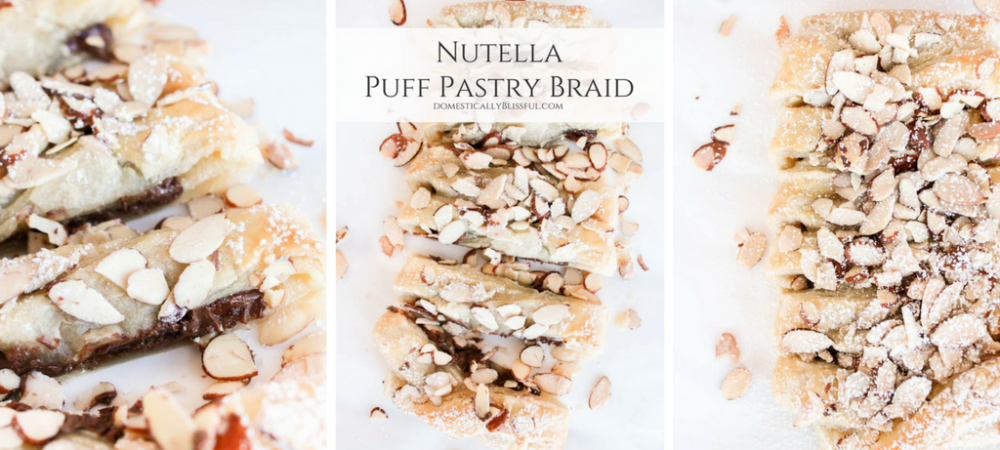 Nutella Puff Pastry Braid