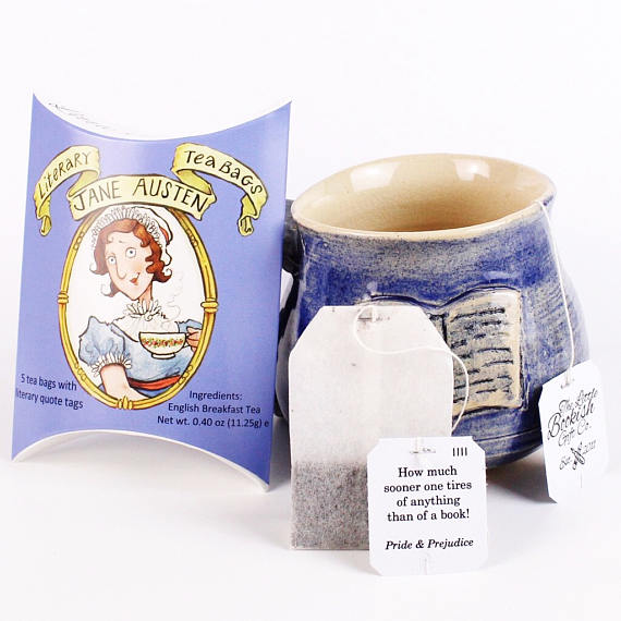 Jane Austen Literary Tea Bags