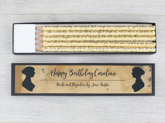 Personalised Pride and Prejudice Gift
