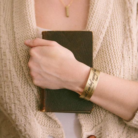 Persuasion Cuff Bracelet