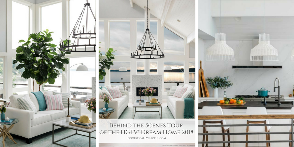 Behind the Scenes Tour of the HGTV® Dream Home 2018