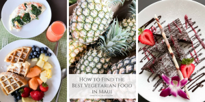 11 tips for finding the best vegetarian food in Maui during your dream vacation.