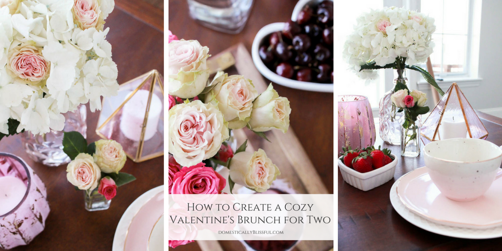 How to Create a Cozy Valentine's Brunch for Two