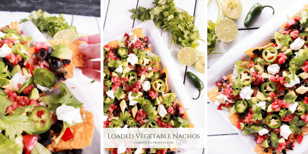 Loaded Vegetable Nachos