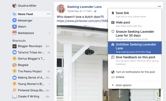 How to get rid of junk in your Facebook News Feed so that you only see the posts you want to see!