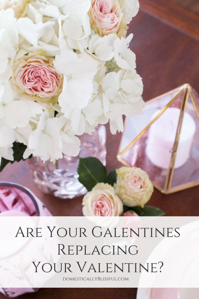 Are Your Galentines Replacing Your Valentine? A Biblical look at how our female friendships can affect (negatively & positively) our marriages & how we need to make our husband & marriage a priority.