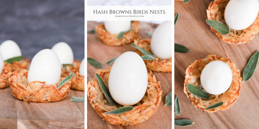 Hash Browns Birds Nests