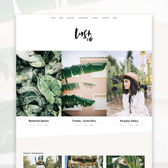 A collection of WordPress Genesis Child Themes that are both functional & gorgeously feminine for under $50.