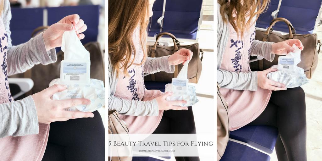 5 Beauty Travel Tips for Flying