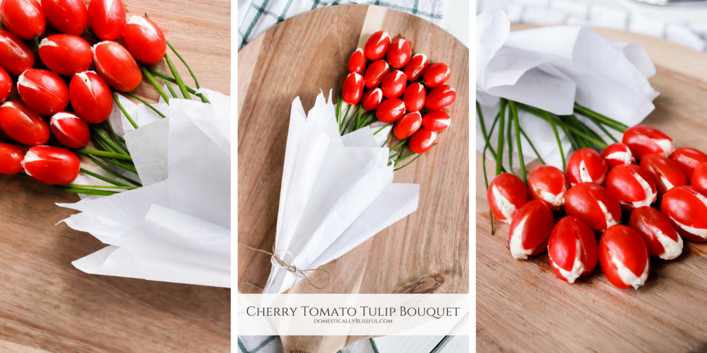 Cherry Tomato Tulip Bouquet