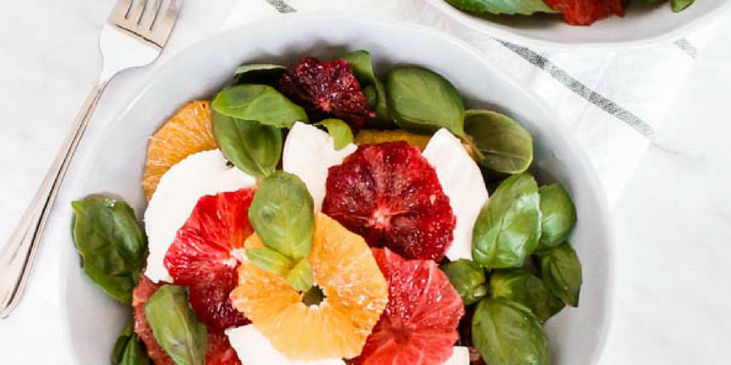 Citrus Caprese Salad