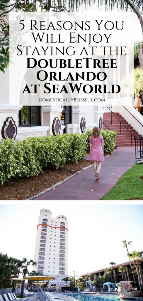 5 reasons you will enjoy staying at the DoubleTree Orlando at SeaWorld the next time you visit Orlando Florida.