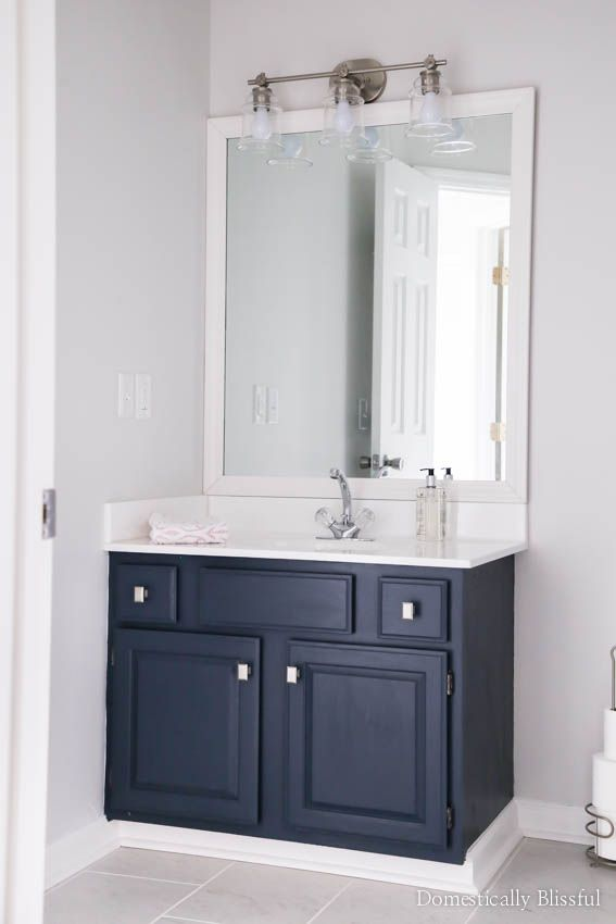 Guest Bathroom Remodel Reveal