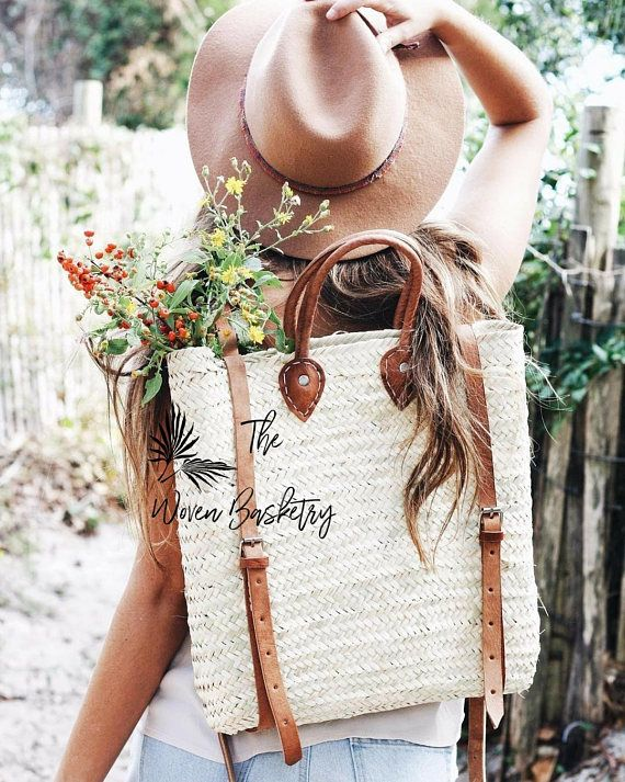 25 straw bags you will love to wear this spring & summer!