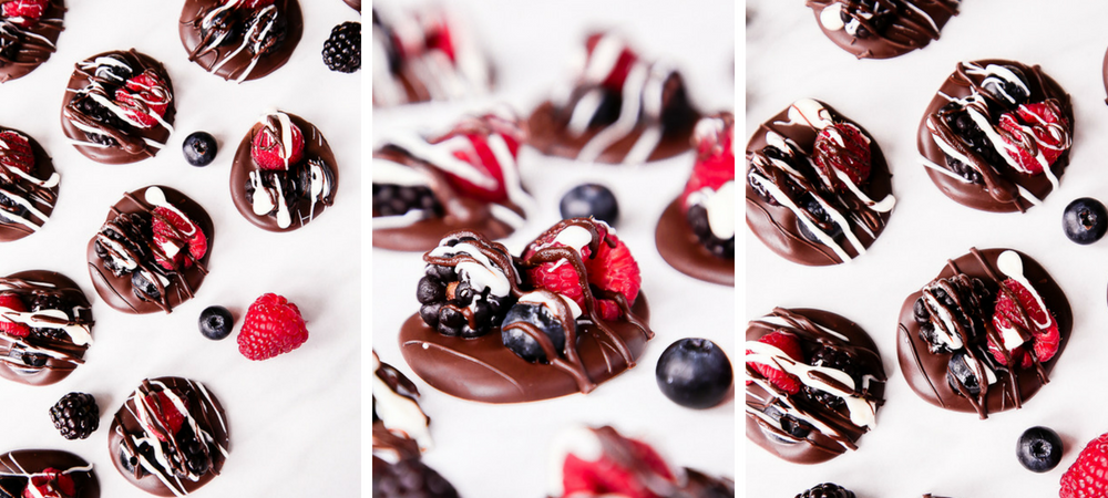 Dark Chocolate Berry Bliss Bites