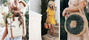 25 straw bags you will love to accessorize with this spring & summer!